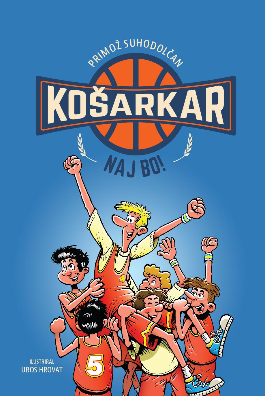 Košarkar naj bo 2017 - prenovljena izdaja najbolj brane mladinske knjige